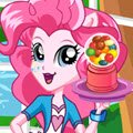 Equestria Girls Sweetshop Games : Pinkie Pie opened a sweetshop. Could you help her  ...