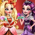 Ever After High Fashion Rivals Games : Apple White is known to be little miss perfect, following al ...