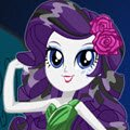Legend of Everfree Rarity Games : Rarity is ready for the Crystal Gala in her signature beauti ...