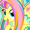 Fluttershy Rainbow Power Style Games : Fluttershy likes to take care of others, especiall ...