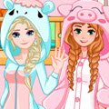 Frozen Bunk Bed Games : These sweet Frozen Sisters, Elsa and Anna, came up with this ...