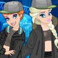 Elsa and Anna Yeezy Games : Can you help Elsa and Anna prepare for the fashion ...