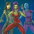 Guardian of the Galaxy Creator Games : With Marvel's brand new Create Your Own Guardian of the Gala ...