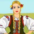 Traditional Polish Costume Games : Mix and match elements of traditional Polish folk  ...