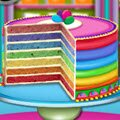 Rainbow Cake Games : Are you looking for an impressive cake recipe? Something ama ...