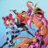 HalloWinx Puzzle Games : Fix all pieces of the picture in exact position us ...