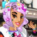 Harajuku Princess Games : Today you are invited to help Jasmine, Tiana and Elsa discover the colorful hara ...