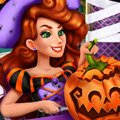 Jessie's Halloween Pumpkin Carving Games : Audrey and Victoria's friend, Jessie, is preparing ...