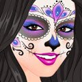 Kardashians Spooky Make Up Games : The Kardashians are always doing Halloween in style! They us ...