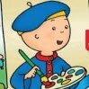 Coloring with Caillou Games