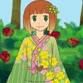 Kit the Kimono Designer : Kit is a kimono designer who custom creates kimonos for her clients. It sounds like a fun job for cr ...