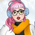 Winter Fashion Maker Games : Create a character and dress up in cozy winter fas ...