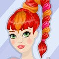 Redhead Hairstyle Games : Fluff up this fiery ginger's flowing locks! Meet Rebecca the ...