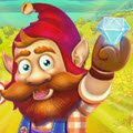 Dwarf Runner Games : This magical dwarf is on a mad dash for lots of precious jewels. How long can yo ...