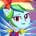 Crystal Guardian Rainbow Dash Games : Rainbow Dash is Canterlot High's spirited and sporty superst ...