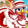 Turkey Dress Up Games : Dress up the most beautiful turkey of thanksgiving 2011 ! Select among funny acc ...