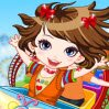 Rollercoaster Thrills Games : Spring means adventure and fun for this stylish cutie as she does not miss the o ...