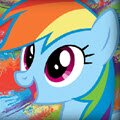MLP Last Dash Games : Fly as far as you can before the sunsets. Sun moves slowers  ...