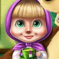 Masha Spring Allergy Games : Mischievous Masha is known to always get into a lot of troub ...