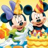 Mickey and Minnie Games : Arrange the pieces correctly to figure out the ima ...