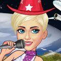 Miley Cyrus World Tour Games : Right now she is getting ready for her very first concert of ...