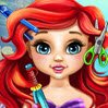 Baby Ariel Real Haircuts Games : The sweetest baby mermaid in the undersea kingdom  ...