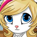 Cute Kitten Games : Take care of this cute little kitten. Choose her colors , wa ...