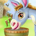 Donkey Horse Caring Games : Oh no! It seems like this little baby donkey is not feeling  ...