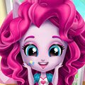 Minis Pinkie Pie Room Prep Games : Pinkie Pie needs to get ready for a magical slumber party wi ...
