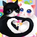 Heart Cats Games : These snuggle bugs are too cute! Only some ridiculously fun  ...