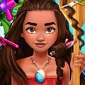 Moana Real Haircuts Games : Get Moana ready for an amazing adventure with a brand new re ...