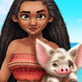 Moana Adventure Style Games : Go on a fashion adventure of a lifetime with Moana! Pick out colorful makeup loo ...