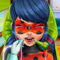 Ladybug Real Dentist Games : Our dear friend Ladybug has a terrible toothache a ...