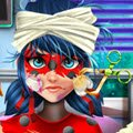 Ladybug Hospital Recovery Games : In an epic battle, Volpina tricked Ladybug into th ...