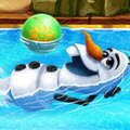 Olaf Schwimmbad Spiele : Olaf's dream of enjoying a beautiful summer's day  ...