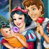 Snow White Baby Feeding Games : Snow White and the Prince have a cute little girl that wakes up in the middle of ...