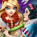 Snow White Tailor for Apple White Games : Snow White enjoys sewing beautiful gowns for her daughter Ap ...