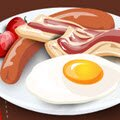 Cooking Eggs With Bacon Games : Hello petite chefs! Today we are having eggs for breakfast o ...