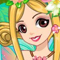 Fairy Party Dress Games : Beautiful forest fairy wants a new outfit for a pa ...