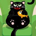 Fluffy's Kitchen Adventure Games : Curiosity may not kill the cat, but it will set Fl ...