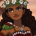 Polynesian Princess Creator Games : Dress up Moana, the Taupou, or Chief's daughter of ...