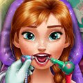 Anna Real Dentist Games : Poor Anna woke up with a terrible toothache, take ...