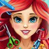 Ariel Real Haircuts Games : The curious little mermaid is on for a new haircut. Her gorgeous red hair is abo ...