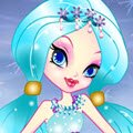 Snowflakes Princess Dress Up Games : Fashion is tops, even all the way up at the North Pole. The Snowflake Princess i ...