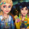 Princess LGBT Parade Games : The time for the most colourful parade is here and you ladies are invited to joi ...