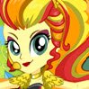 Sunset Shimmer Rainbooms Style Games : A loyal friend with a good heart, Sunset Shimmer i ...