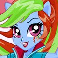 Rainbow Dash School Spirit Style Games