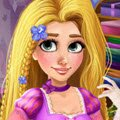 Rapunzel Spa Day Games : Today is a very special day, it is Rapunzel's birthday and w ...