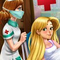 Rapunzel Birth Care Games : A magical event is happening, Rapunzel is going to give birt ...