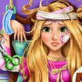 Rapunzel Hospital Recovery Games : Rapunzel fell off Max while they were outside and now they h ...